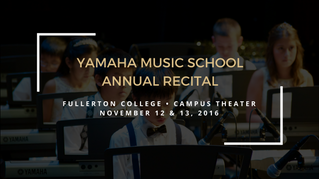 Annual School Recital - 2016