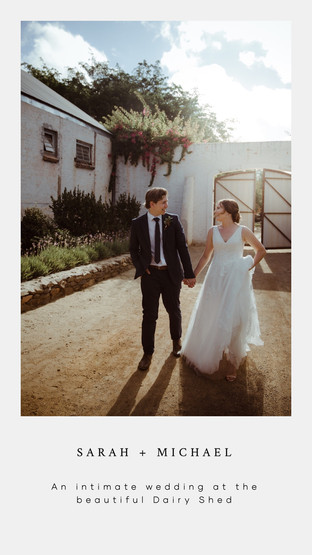 Elopement at The Dairy Shed