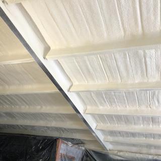 bar and grill spray foam insulation