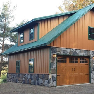 post frame cabin