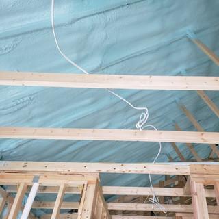green spray foam insulation