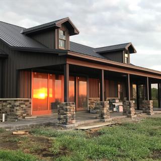 post frame house Precision Enterprises