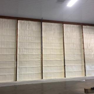 spray foam insulation wall