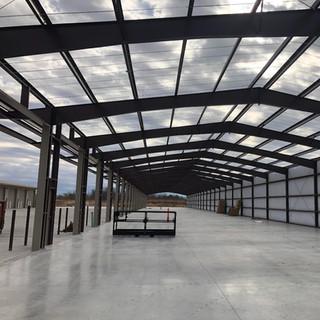 steel frame building precision enterprises