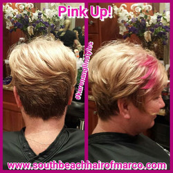 Show your support in October. Pink up with a statement piece