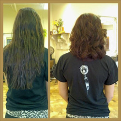 Before and After :) Happy Hair!