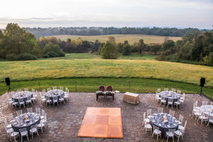Sunset Patio at Rixey Manor