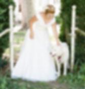 pet friendly wedding at the best outdoor wedding venue in northern virgnia