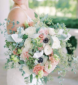 Wedding flowers at Rixey Manor