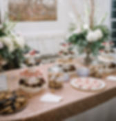 Cookie bar wedding venue in virginia outdoor