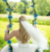 swing at a weddng at the best outdoor wedding venue in northern virgnia