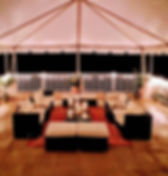 rooftop with mountain views at the best outdoor wedding venue in northern virgnia