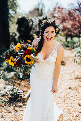 Sunflowers and a Summer Wedding