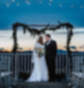 rooftop ceremony rixey manor at the best outdoor wedding venue in northern virgnia