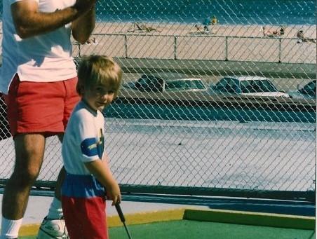 Ben, The Golfer.