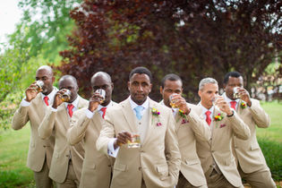 Everyone's favorite groomsmen photo