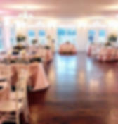 Chandeliar ballroom  best outdoor wedding venue in northern virginia