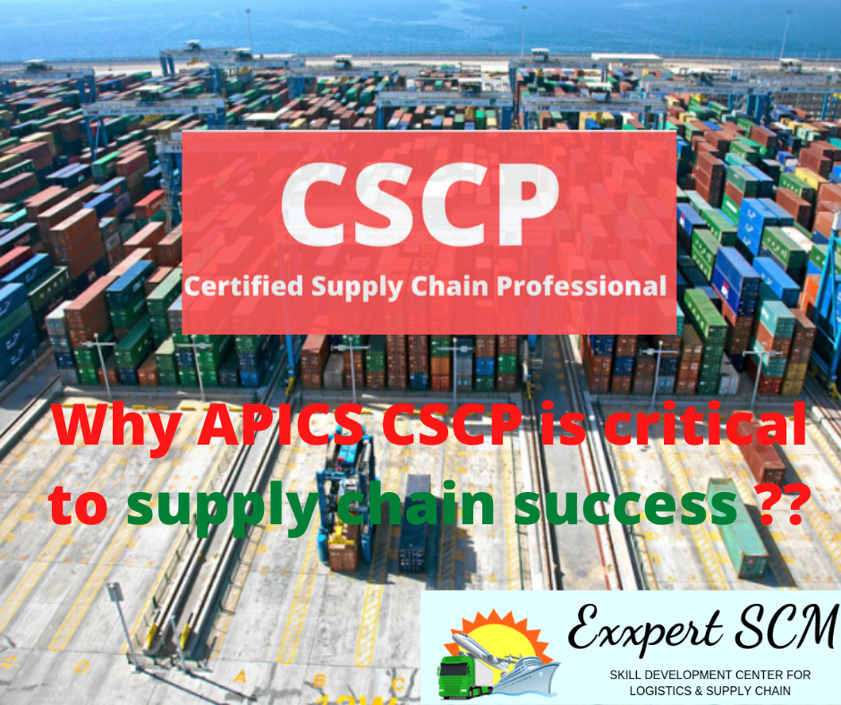 Why CSCP is Critical to supply chain success