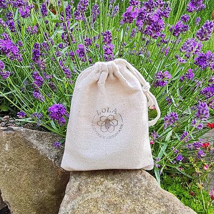 Cotton Drawstring Soap Bag