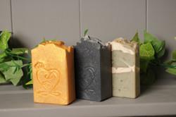 gold frankincense and myrrh soap