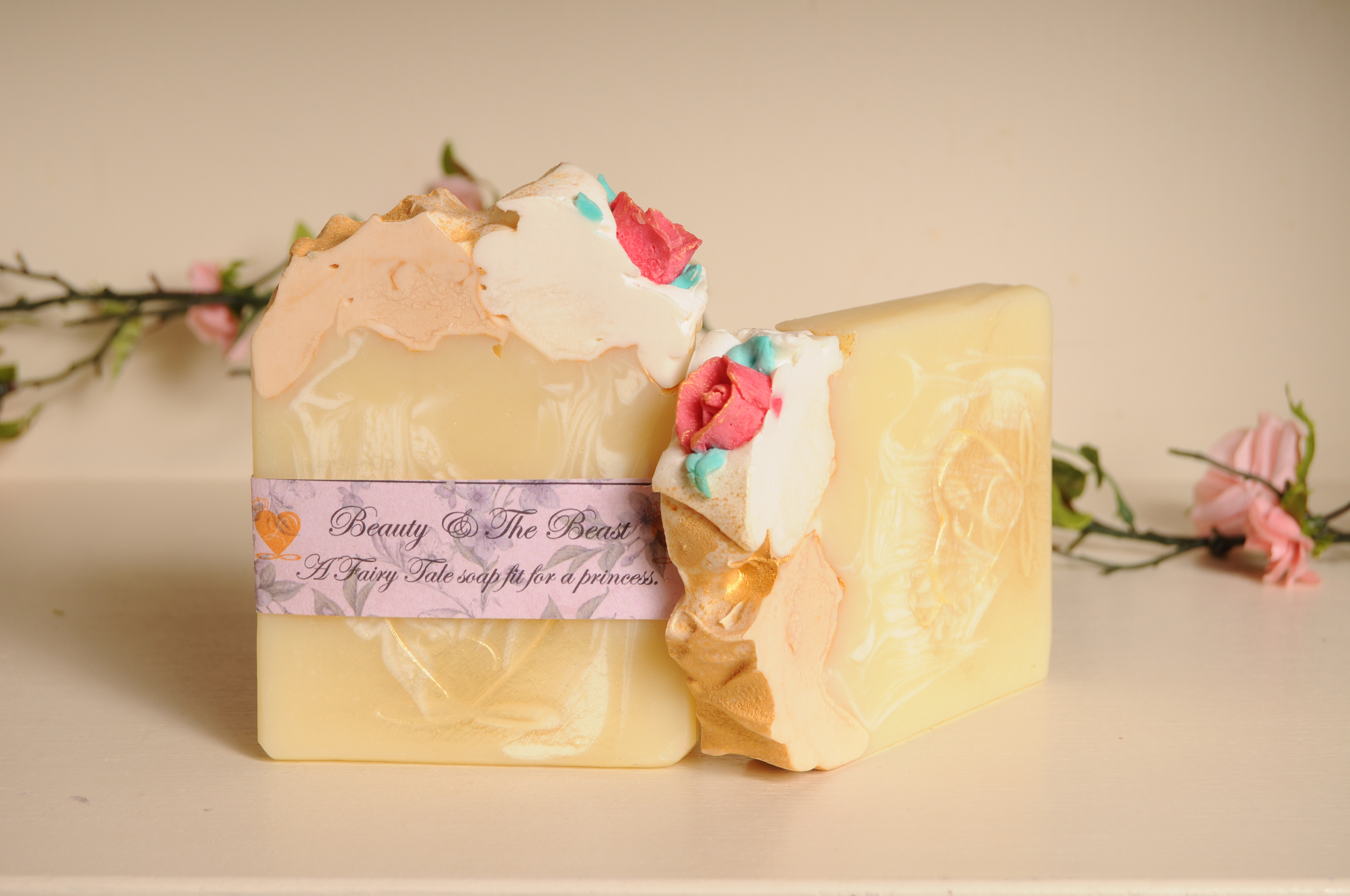 BEAUTY AND THE BEAST SOAP BAR