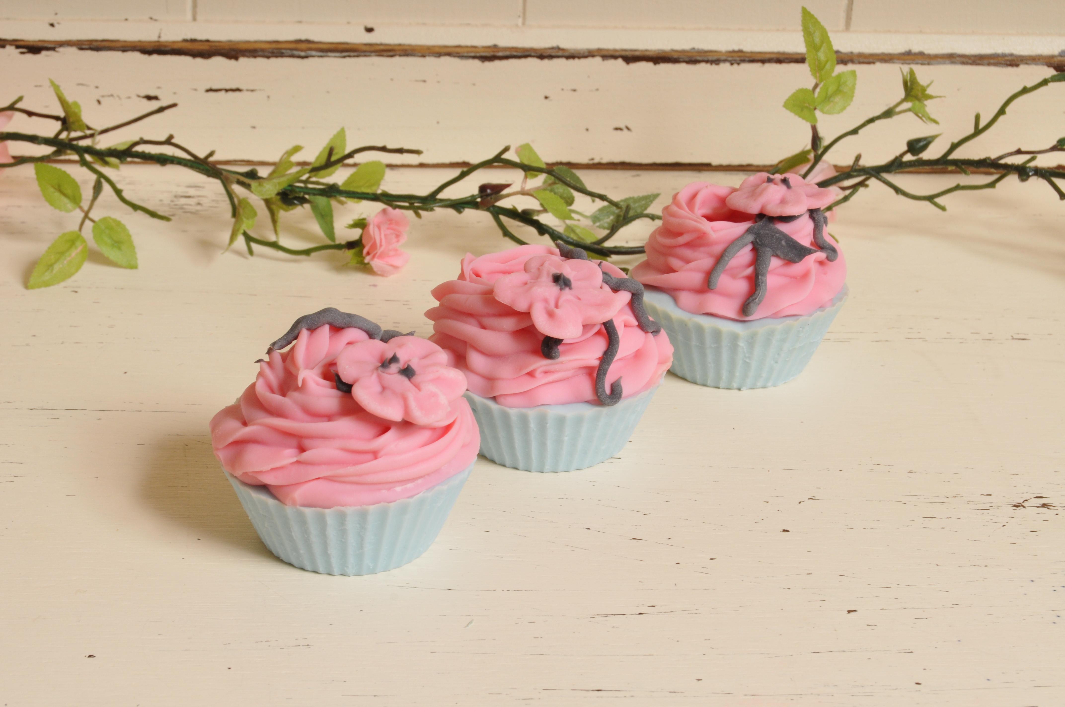 Geisha cupcake soaps