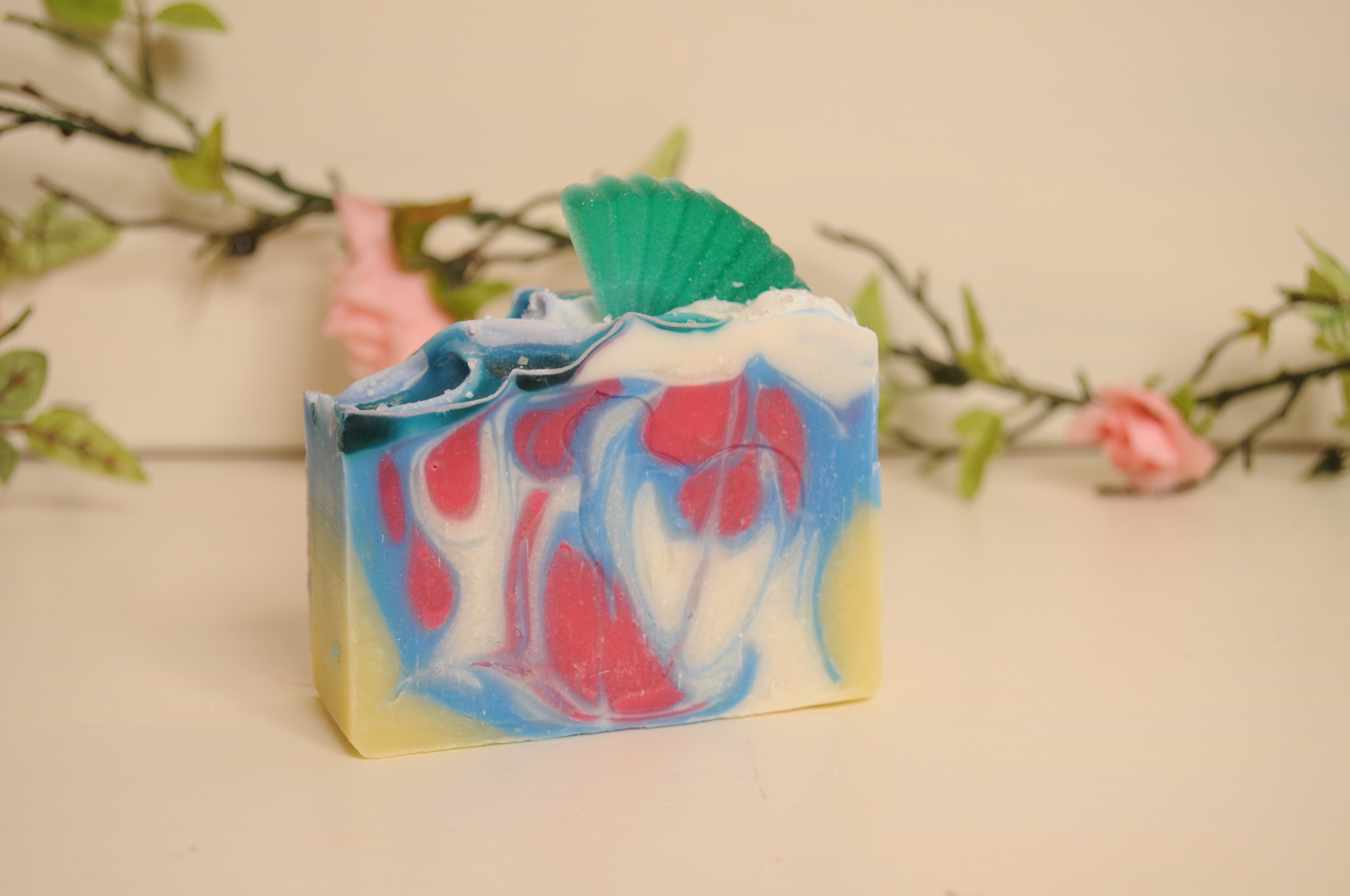 little mermaid soap bar