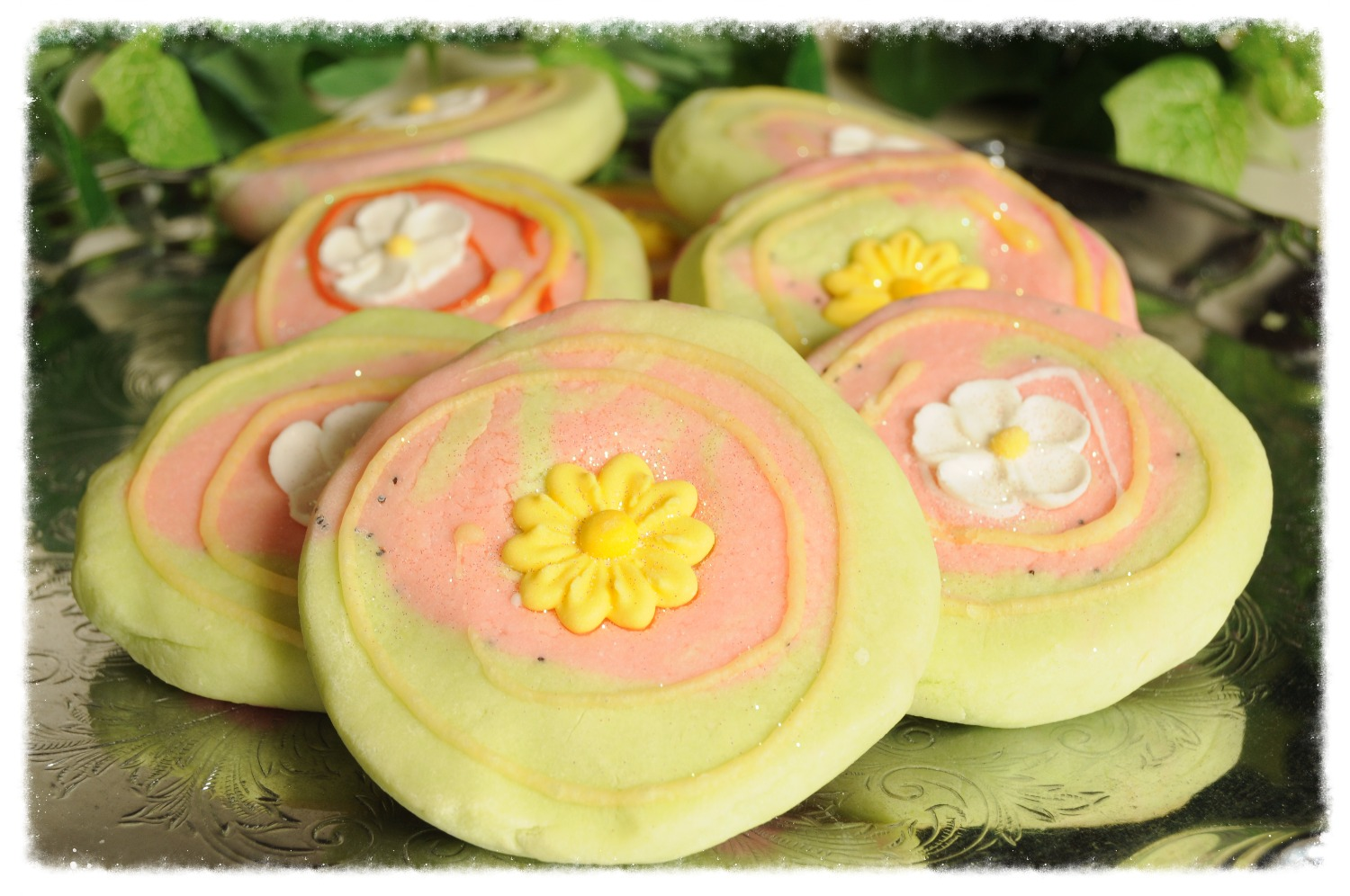 watermelon bubble cookie