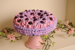 black raspberry vanilla cake soap