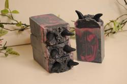 Maleficent soap bar
