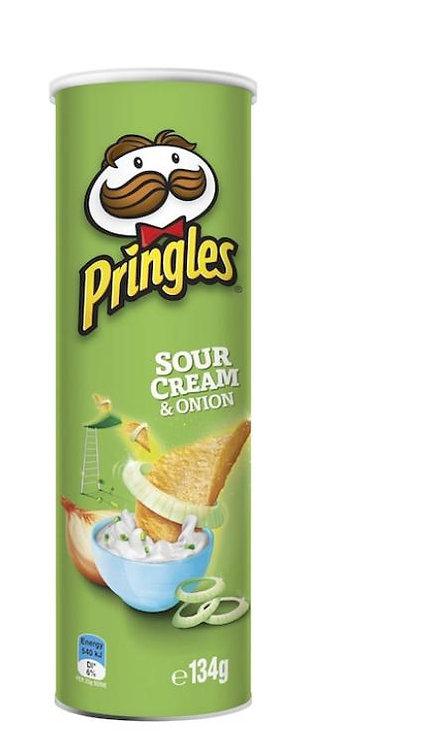 Pringles Sour Cream & Onion 134g