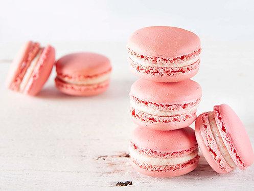 Raspberry & Cream Macaron (20pk)