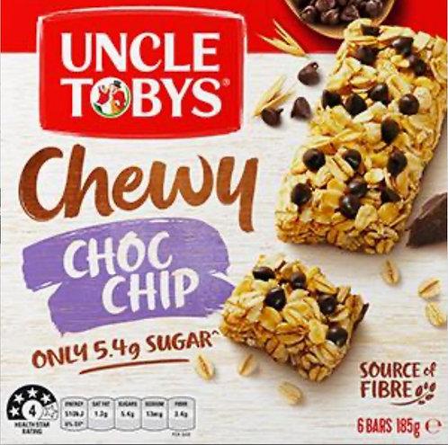 Uncle Tobys Choc Chip Muesli Bar (6pk)