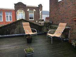 renovatie van twee stoelen