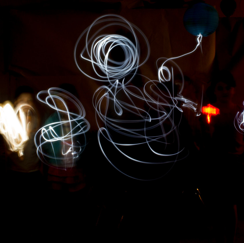SupDup Light Painting Group 4