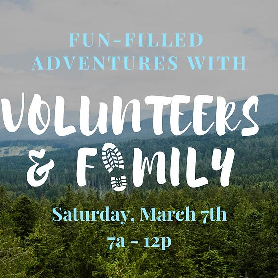 Volunteers' Fun-Day: Hiking & Picnic