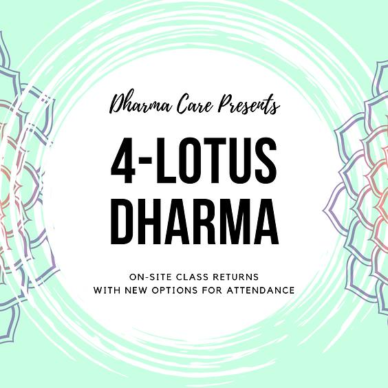Bodhisattvas-in-Training with Emphasis on 4-Lotus Dharma