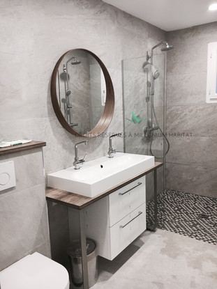 4.5 Transformation cellier en salle de bain