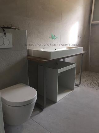 4.2 Transformation cellier en salle de bain