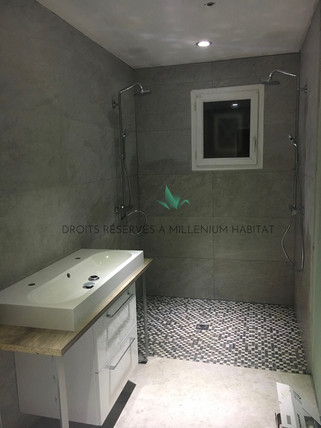 4.3 Transformation cellier en salle de bain
