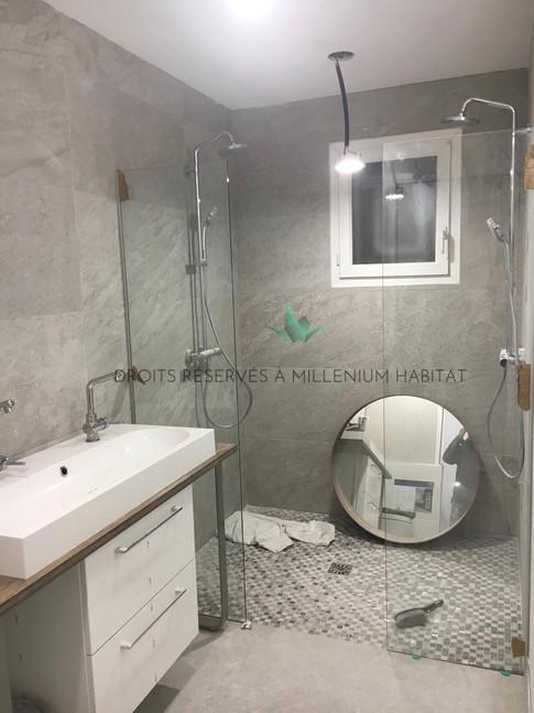 4.4 Transformation cellier en salle de bain