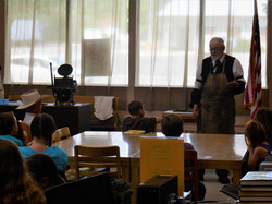 Printing Press with Mike Parker