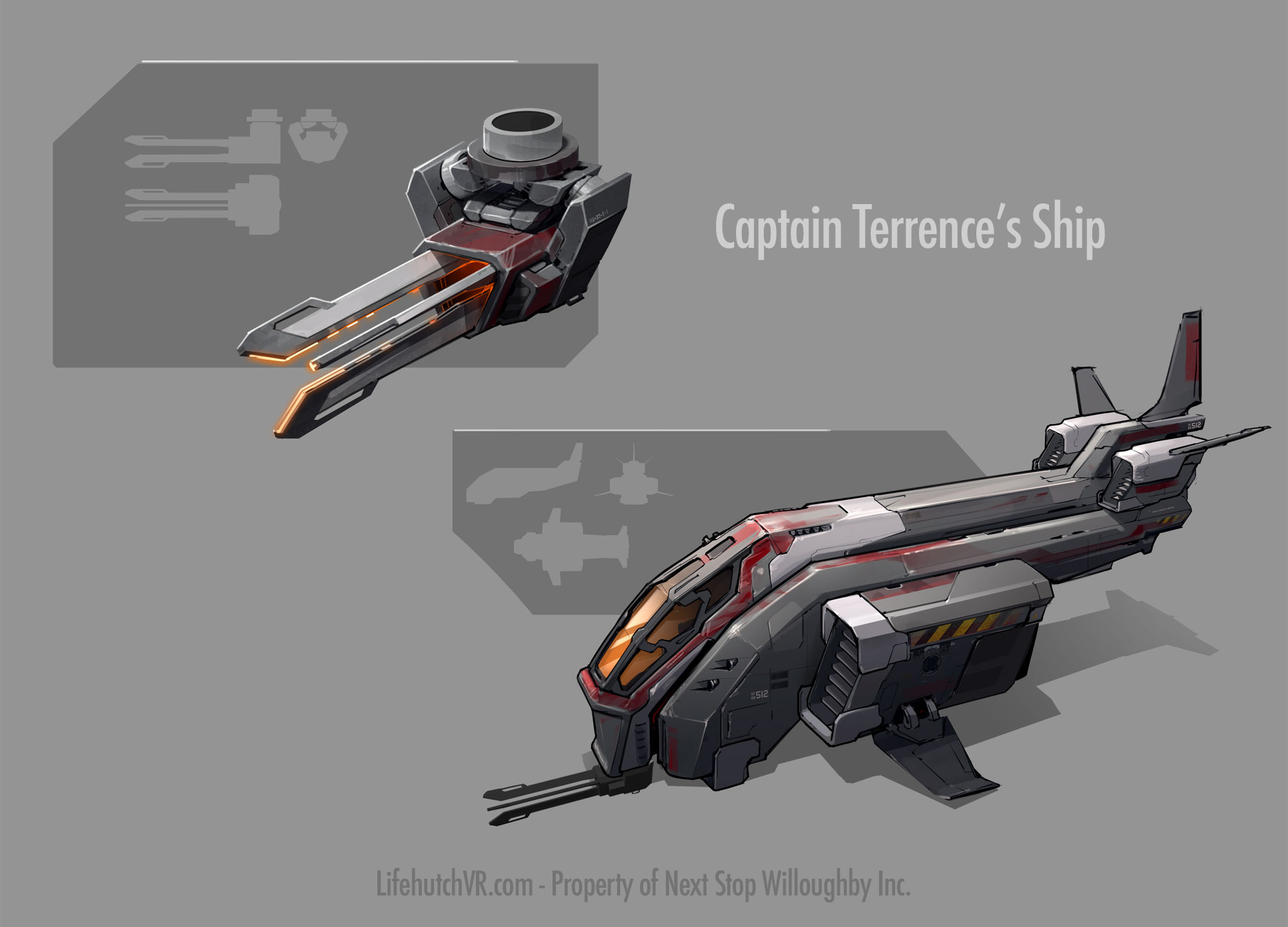Terrence's Ship