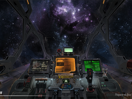 In the Cockpit of Life Hutch VR