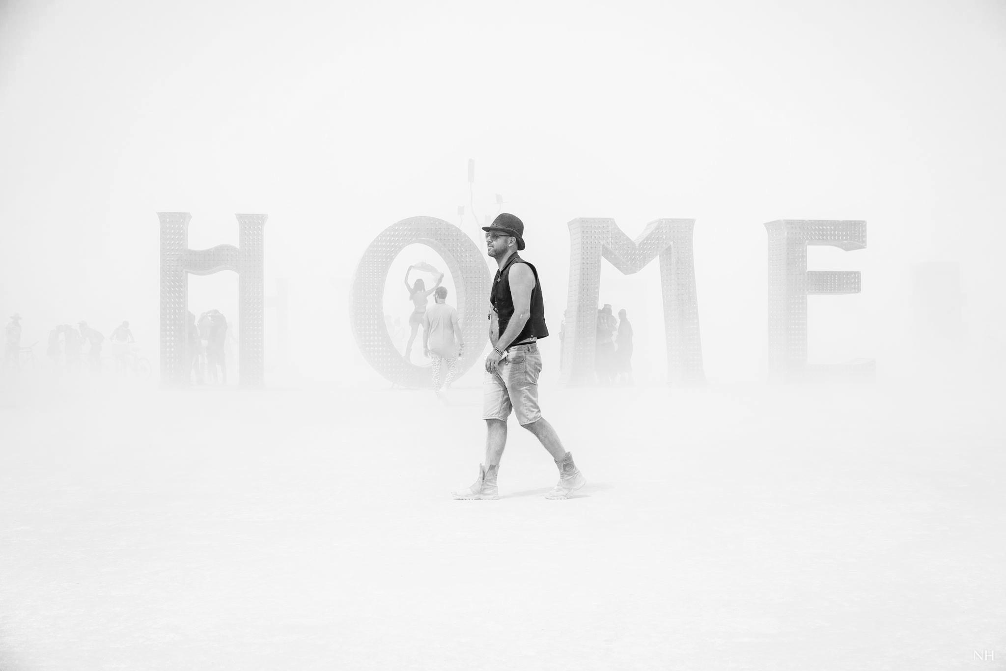 Vanjee at Burning Man Festival