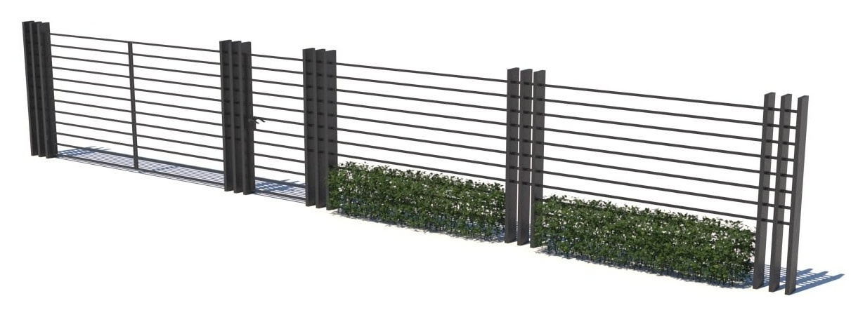Gate and fences 8