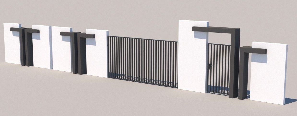Gate and fences 15
