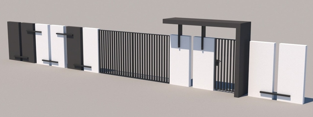 Gate and fences 26
