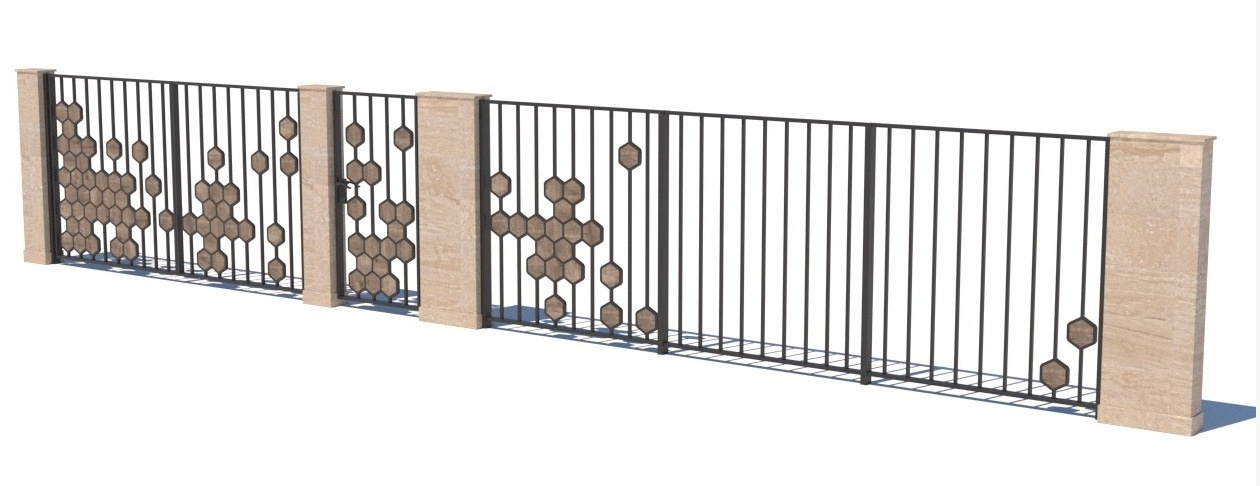 Gate and fences 20