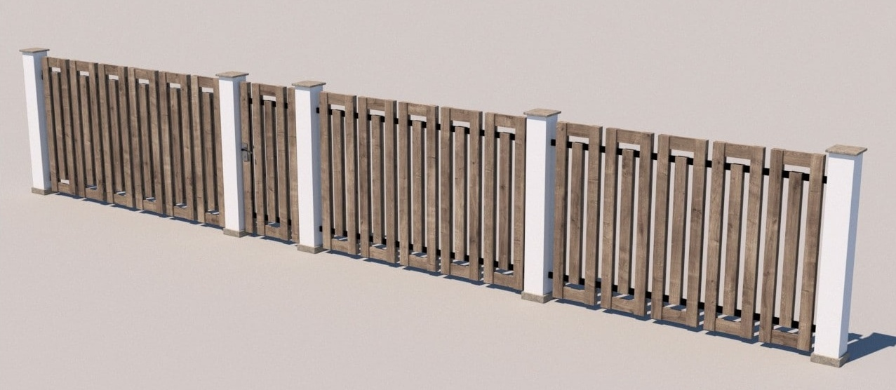 Gate and fences 27